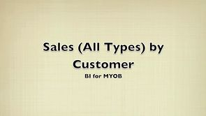 Sales (All Types) by Customer